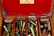 Purdey and Eley Brass cartridges.