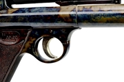 Colour case hardened Webley and Scott senior